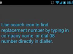 0870 0844 0800 Free Call 2.0.2 Screenshot