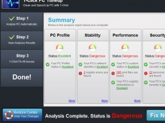 1-Click PC Tuneup 3.0.3.2 Screenshot