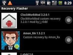 1-click Recovery Flasher 1.2 Screenshot