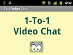 1-To-1 Video Chat 0.1 Screenshot