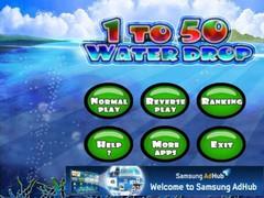 1 To 50 Water Drop 1.1.2 Screenshot