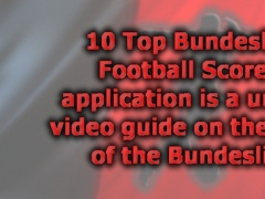 10 Top Bundesliga Football Scorers - season 2012-2013 2.0 Screenshot