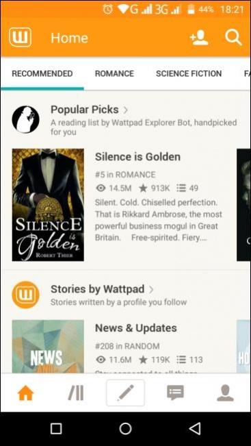 Wattpad – Free Books