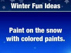 100 Winter Fun Ideas for New Year, Christmas, Holidays or Everyday Entertaining 1.1 Screenshot