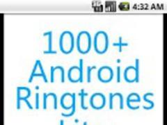 1000+ Android Ringtones Lite 2.2.121 Screenshot