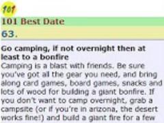101 Best Date Ideas 1.0 Screenshot