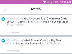 103.7 The Beat 4.1.2 Screenshot