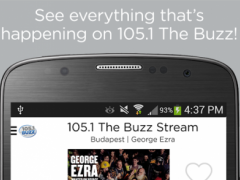 105.1 The Buzz 3.5.2 Screenshot