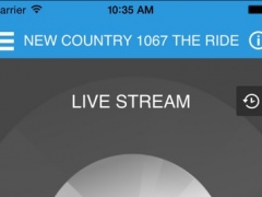 106.7 The Ride KHLR-FM 6.31.0 Screenshot