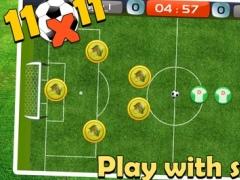 11x11 Football Fingers 1.0 Screenshot