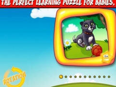 123 Animal Babies Toddlerpuzzle with bonus creative coloring draw book - The PREMIUM Wooden Shapes Puzzle Game For Kids And Toddlers 1.0.0 Screenshot