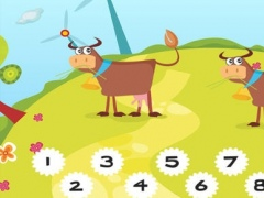 123 Farm counting game for children: Learn to count the numbers 1-10 with pets and animals of the barn 1.0 Screenshot
