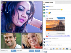 123 Flash Chat Server Software 10.0 Screenshot