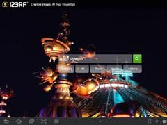 123RF Stock Photo Application 1.3 Screenshot