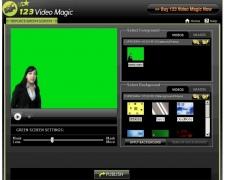 123VideoMagic Green Screen Software 4.0 Screenshot