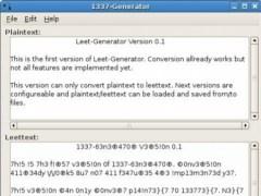 1337-Generator 0.2 Screenshot