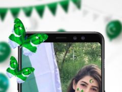 14 August Face Stickers PakFlag Free Download