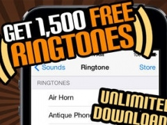 1500 Ringtones Unlimited - Download the best iPhone Ringtones 8.5.0 Screenshot