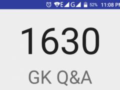 1630 GK In Telugu 1.0 Screenshot