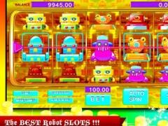 180 Ace Robot Slot Machine 1.0 Screenshot