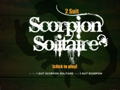 2 Suited Scorpion Solitaire 1.0 Screenshot