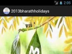 2013 Bharat(Indian) Holidays 1.0 Screenshot