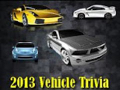 2013 Vehicle Trivia Challenge 1.0 Screenshot