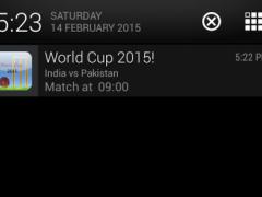 2015 Cricket WorldCup-Notifier 2.0 Screenshot