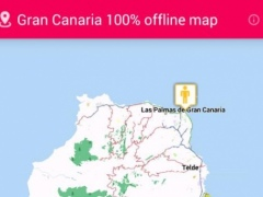 2015 Gran Canaria offline map 2.1 Screenshot
