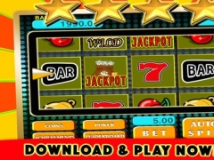 2016 A Big Casino Double Amazing Lucky Machine - FREE Casino Slots 1.0 Screenshot