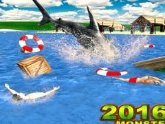2016 Sea Monster Shark : Underwater Super Spear 3d 1.1 Screenshot