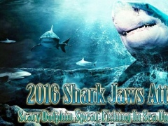 2016 Shark Jaws Attack Pro : Scary Dolphin Spear 1.0.2 Screenshot