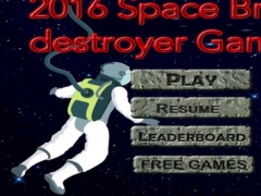 2016 Space Brick destroyer Gamer 1.0 Screenshot