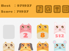 2048 Animals Cat + Cat = Dog 1.4 Screenshot