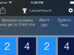 2048 PuzzIe 1.1 Screenshot