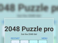2048 Puzzle Pro Game 2017 1.2 Screenshot