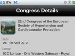 22nd Congress of the European Society of Hypertension 1.0 Screenshot
