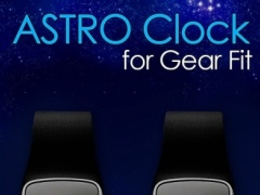 24/12 Astro Clock for Gear Fit 1.4.2 Screenshot