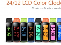 24/12 LCD Clock for Gear Fit 1.2.1 Screenshot