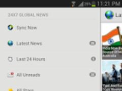 24X7 Global News 2.0 Screenshot