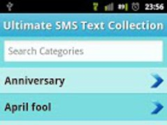 25000+ SMS Template Collection 1.4 Screenshot
