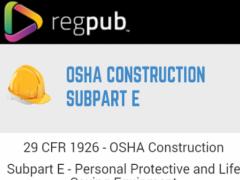29 CFR 1926 - Subpart E 1 1 5 Free Download