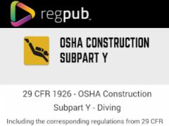 29 CFR 1926 - Subpart Y 3.0.1 Screenshot