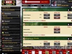2BET2 Social Betting for iPad 1.0 Screenshot