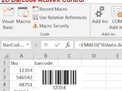 2D Barcode ActiveX Control 12 05 Free Download