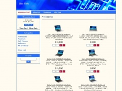 2Rapid Ecommerce Shopping cart software 5.0 Screenshot