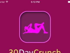 30 Day Crunch Challenge For Flat Belly Fitness 1.0 Screenshot