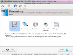 321Soft Data Recovery for Mac 5.5.5.1 Screenshot
