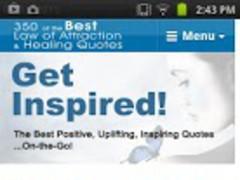 350 Inspirational Quotes 2.0 Screenshot