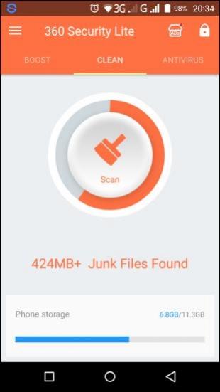 360 Security Lite – Booster, Cleaner, AppLock